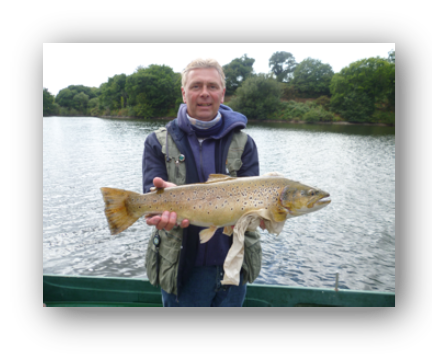 The new Jersey Brown Trout record of 8lb 2oz was caught and safely returned to Queens Reservoir